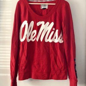 Ole Miss/Univ. of Mississippi VS Pink Sweatshirt